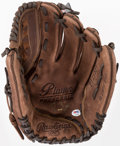 Baseball Collectibles:Others, Darryl Strawberry Signed Glove. ...