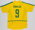 Olympic Collectibles:Autographs, Ronaldo Signed Brazil Jersey. ...