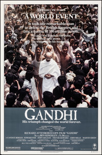 "Gandhi (Columbia, 1982). Rolled, Very Fine. One Sheets (14) Identical (27"" X 41""). Drama. ... (Total: 14 Items..."