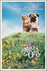 "The Adventures of Milo and Otis & Other Lot (Columbia, 1989). Rolled, Overall: Very Fine-. One Sheets (28) (27""..."