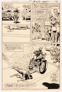 Curt Swan and Murphy Anderson Superman #250 Story Page 11 Original Art (DC Comics, 1972)