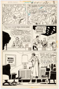 Original Comic Art:Panel Pages, Curt Swan and Murphy Anderson Action Comics #414 Story Page 7 Original Art (DC Comics, 1972)....