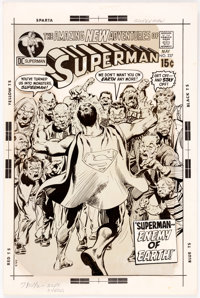 Neal Adams Superman #237 Cover Production Stat (DC Comics, 1971)