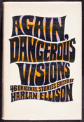 Movie Posters:Science Fiction, Again, Dangerous Visions by Harlan Ellison Et Al. (Double Day, 1972). Very Fine-. Autographed Hardcover Book (760 Pages, 6.5...
