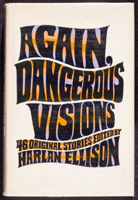 Again, Dangerous Visions by Harlan Ellison Et Al. (Double Day, 1972). Very Fine-. Autographed Hardcover Book (760 Pages...