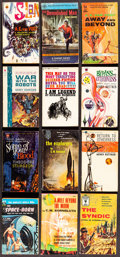 Movie Posters:Science Fiction, Science Fiction Book Lot (1953-1974). Overall: Fine/Very Fine. Autographed Paperback Books (2) & Paperback Books (22) (Multi... (Total: 24 Items)