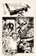 Original Comic Art:Panel Pages, James Fry and Chris Ivy Spider-Man Team-Up #5 Story Page 20 Original Art (Marvel Comics, 1996)....