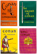 Books:Hardcover, Robert E. Howard Vintage Hardcover Volumes Group of 17 (Various, 1950-2006).... (Total: 17 Items)