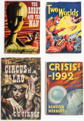 Books:Hardcover, Assorted Vintage Science Fiction and Fantasy Hardcover Editions Group of 7 (Various, 1937-67).... (Total: 7 Items)