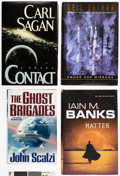 Books:Hardcover, Assorted Genre Fiction Hardcover Novels Boxes Group (Various Publishers, 1970s-2000s).... (Total: 7 Items)