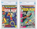 Iron Man #129 and 130 CBCS-Graded Group (Marvel, 1979-80) CBCS NM/MT 9.8 White pages.... (Total: 2 )