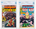 Bronze Age (1970-1979):Superhero, Iron Man #113 and 115 Group (Marvel, 1978) CBCS NM/MT 9.8.... (Total: 2 Comic Books)