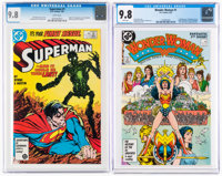 Superman #1/Wonder Woman #1 Group (DC, 1987) CGC NM/MT 9.8.... (Total: 2 Comic Books)