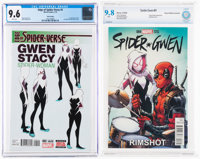 Spider-Gwen Related Certified Group of 2 (Marvel, 2015-16).... (Total: 2 Comic Books)