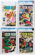 Modern Age (1980-Present):Superhero, Iron Man #187-190 Certified Copies Group (Marvel, 1984-85) Condition: NM/MT 9.8.... (Total: 4 Comic Books)