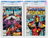 Iron Man #169 and 170 CGC-Graded Group (Marvel, 1983) CGC NM/MT 9.8 White pages.... (Total: 2 )