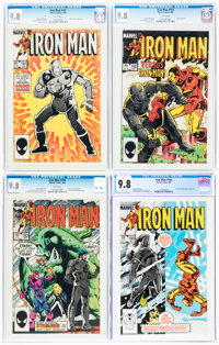 Iron Man CGC-Graded Group of 5 (Marvel, 1985) CGC NM/MT 9.8 White pages.... (Total: 5 )