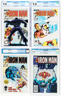 Iron Man CGC-Graded Group of 4 (Marvel, 1985) CGC NM/MT 9.8 White pages.... (Total: 4 )