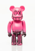 Collectible, BE@RBRICK X Andre Saraiva. Mr. A tout va bien 100%, 2005. Painted cast resin. 2-3/4 x 1-1/4 x 3/4 inches (7.x 3.2 x 1.9 ...