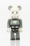 Collectible, KAWS X BE@RBRICK. Companion 100% (Grey), 2002. Painted cast vinyl. 2-3/4 x 1-1/4 x 3/4 inches (7 x 3.2 x 1.9 cm). Stampe...
