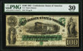 Confederate Notes:1861 Issues, T5 $100 1861 PF-1 Cr. 5 PMG Very Fine 30.. ...