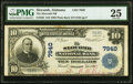 National Bank Notes:Alabama, Slocomb, AL - $10 1902 Plain Back Fr. 625 The Slocomb National Bank Ch. # 7940 PMG Very Fine 25.. ...
