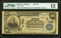 National Bank Notes:Alabama, Brantley, AL - $10 1902 Plain Back Fr. 625 The First National Bank Ch. # (S)7991 PMG Fine 12.. ...