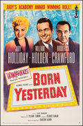 """Movie Posters:Comedy, Born Yesterday (Columbia, R-1961). Very Fine- on Linen. One Sheet (27"""" X 41.25""""). Comedy. From the Collection of Frank Bux..."""