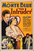 "The Intruder (Allied Pictures, 1933). Very Fine- on Linen. One Sheet (27.5"" X 41""). Mystery"