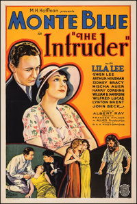 """The Intruder (Allied Pictures, 1933). Very Fine- on Linen. One Sheet (27.5"""" X 41""""). Mystery. From the Collecti..."""