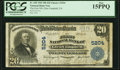 National Bank Notes:Pennsylvania, Glen Campbell, PA - $20 1902 Plain Back Fr. 658 The First National Bank Ch. # 5204 PCGS Fine 15PPQ.. ...