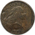 1793 1C Chain, AMERICA, Periods, S-4, B-5, R.3, -- RE-Engraved, Corroded - Damaged -- ANACS Details. VG8....(PCGS# 35444...