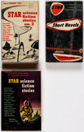 Books:Hardcover, Frederik Pohl and Others Vintage Signed Hardcover Editions Group of 3 (Ballantine Books, 1953-54).... (Total: 3 Items)