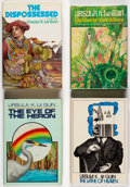 Books:Signed Editions, Ursula K. Le Guin Signed Hardcover Editions Group of 4 (Various, 1971-78).... (Total: 4 Items)
