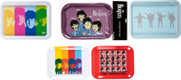 The Beatles Trays With Various Designs (5) (circa mid-2000s)