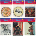Music Memorabilia:Memorabilia, The Beatles Mousepads (6) (circa mid-1990s)....
