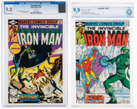 Iron Man #136 and 137 CGC/CBCS-Graded Group (Marvel, 1980) NM/MT 9.8 White pages.... (Total: 2 )