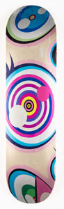 Collectible, Takashi Murakami X ComplexCon. Untitled, from Dobtopus, 2017. Screenprint on skate deck. 32 x 8 inches (81.3 x 20.3 ...