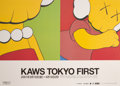 Prints & Multiples, KAWS X Parco. Tokyo First, exhibition poster, 2001. Offset lithograph in colors on board. 14 x 20-1/4 inches (35.6 x 51....