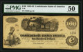 """Confederate Notes:1862 Issues, Manuscript Endorsement """"Stephen Edgar Rumble"""" T40 $100 1862 PF-20 Cr. 308 PMG About Uncirculated 50.. ..."""