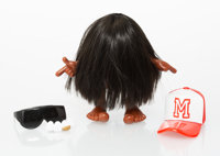 Perks and Mini X Pam Toy X OneGram Missing Link (Brunette), 2002 Cast vinyl, with accessories 6 x 7 x 3-1/2 inches (1