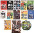 Music Memorabilia:Memorabilia, The Beatles Set of Pins/Buttons (13) In Original Packaging (circa 2000s). ...