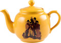 Music Memorabilia:Memorabilia, The Beatles Yellow Submarine Teapot and Lid from P&K. ...