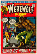 Bronze Age (1970-1979):Horror, Werewolf by Night #1 (Marvel, 1972) Condition: VF-....