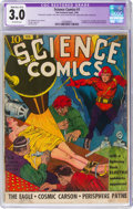 Golden Age (1938-1955):Science Fiction, Science Comics #1 (Fox, 1940) CGC Apparent GD/VG 3.0 Mod/Ext (C-4) Off-white pages....