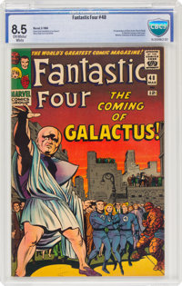 Fantastic Four #48 (Marvel, 1966) CBCS VF+ 8.5 Off-white to white pages