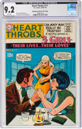 Silver Age (1956-1969):Romance, Heart Throbs #117 Murphy Anderson File Pedigree (DC, 1968) CGC NM- 9.2 White pages....