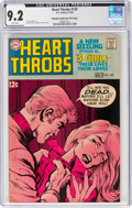 Silver Age (1956-1969):Romance, Heart Throbs #120 Murphy Anderson File Pedigree (DC, 1969) CGC NM- 9.2 White pages....