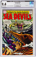 Silver Age (1956-1969):Adventure, Sea Devils #29 Murphy Anderson File Pedigree (DC, 1966) CGC NM 9.4 Off-white to white pages....