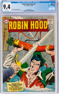 Silver Age (1956-1969):Adventure, Robin Hood Tales #12 (DC, 1957) CGC NM 9.4 White pages....